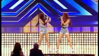 getlinkyoutube.com-The X Factor Uk 2012 - Poisonous twins Audition