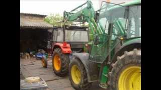 getlinkyoutube.com-Ursus C-360 nowe wcielenie, oraz kilka udoskonaleń związanych z mocą traktora