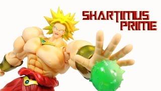getlinkyoutube.com-SH Figuarts Broly Dragon Ball Z Bandai Tamashii Nations Action Figure Review