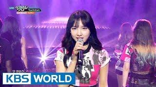 getlinkyoutube.com-TWICE (트와이스) - Touchdown / Cheer Up [Music Bank COMEBACK / 2016.04.29]