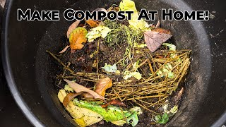 How To Make Compost - Easy Composting Tips