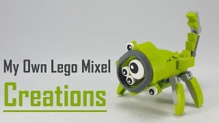 getlinkyoutube.com-How to build | My Own Lego Mixels Creations | EP 4
