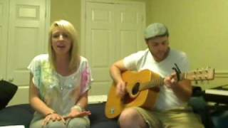 getlinkyoutube.com-Kings of Leon - Use Somebody - Acoustic Cover - Lynzie Kent and Rich G