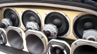 """getlinkyoutube.com-Som no Ford Ka 2 snakes SLX815 4x medio 8"""" selenium (testando medio grave)"""