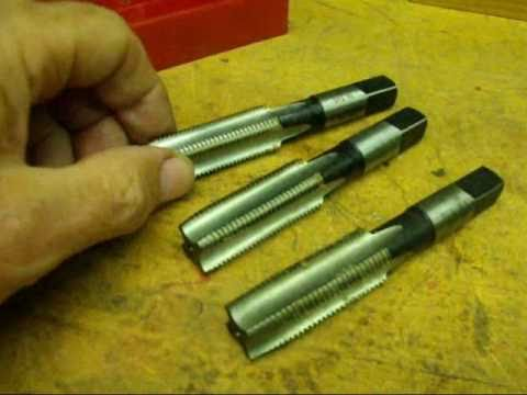 MACHINE SHOP TIPS #1 Taps  tubalcain