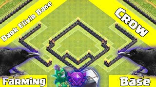 getlinkyoutube.com-Clash Of Clans: AMAZING TH9 DE Farming Base - Crows + An Epic Replay