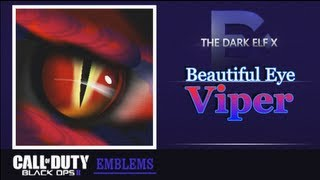 getlinkyoutube.com-Black Ops 2 Emblem - Beautiful Eye ( Viper )