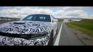 getlinkyoutube.com-2015 Dodge Charger SRT Hellcat High Speed Testing