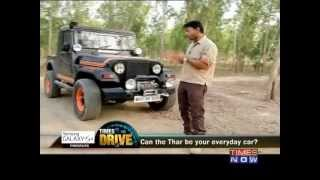 getlinkyoutube.com-TIMES DRIVE: Can The Thar Be Your Everyday Car?