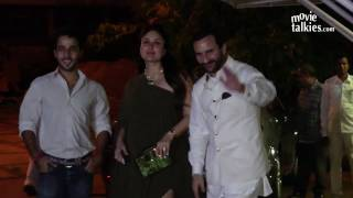 getlinkyoutube.com-Pregnant Kareena Kapoor's Baby Bump Gets Bigger Spotted After A Late Night Party