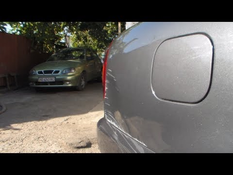 Видео отчёт:Крыло бампер покраска Деу сенс.