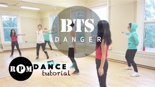 "getlinkyoutube.com-BTS ""Danger"" Dance Tutorial (Chorus)"