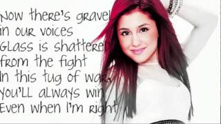 getlinkyoutube.com-Ariana Grande -  Love The Way You Lie LYRICS!