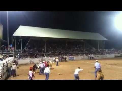 2012 Wild Mare Race Pecos Rodeo
