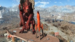 getlinkyoutube.com-FALLOUT 4 - ALL GIANT MONSTERS FOUND!!!