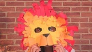 getlinkyoutube.com-How To Make A Lion Mask