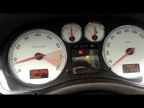 Peugeot 307 erro air bag e falhando aceleracao