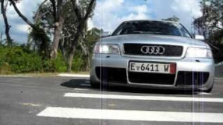 """getlinkyoutube.com-2000 audi s4 st2 3"""" full turbo back exhaust"""