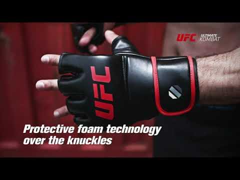 UFC Contender MMA Fitness Gloves Small/Medium - Black