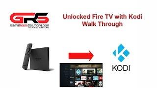 getlinkyoutube.com-Unlocked Fire TV with Kodi Walk Through
