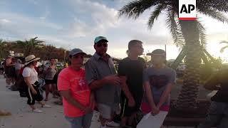 Virgin Islands Tourist Describes Irma's Power width=