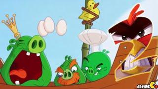 getlinkyoutube.com-Angry Birds 2 - Level 211-220 3 Stars Bamboo Forest Misty Mire Walkthrough!