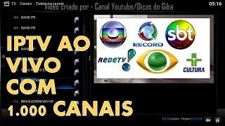 getlinkyoutube.com-IPTV AO VIVO M3U com 1000 CANAIS LISTA COMPLETA !!!