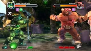 getlinkyoutube.com-Marvel Contest of champions Ronan 3* VS Juggernaut from Story quest 4-3-3