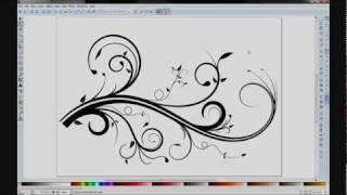 getlinkyoutube.com-Inkscape Flourish