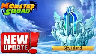getlinkyoutube.com-MONSTER SQUAD | SKY ISLAND NEW UPDATE !!!