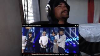 getlinkyoutube.com-Super Junior - Alright Live Perf with Lyrics REACTION!!!