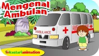 getlinkyoutube.com-Mengenal Mobil Ambulan bersama ella ello | Kastari Animation Official