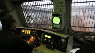 getlinkyoutube.com-SHATABDI EXPRESS LOCO CAB RIDE (FOOTPLATE) : Inside WAP 7 at 130 KMPH
