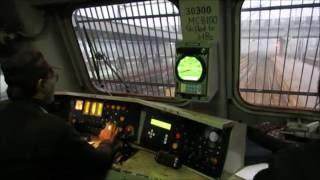 SHATABDI EXPRESS LOCO CAB RIDE (FOOTPLATE) : Inside WAP 7 at 130 KMPH