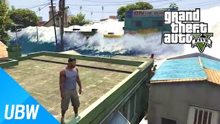 getlinkyoutube.com-GTA 5 쓰나미 모드 - GTA 5 Mod Showcase: Tsunami Mod