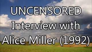 getlinkyoutube.com-Interview with Alice Miller, November 1992 [interview]