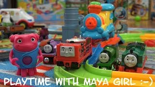 Thomas & Friends Toy Train: All New Trackmaster Glynn Unboxing & Playtime 1 of 2