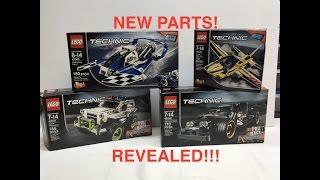 getlinkyoutube.com-New 2016 LEGO Technic Unboxing | NEW PARTS!!!