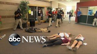 getlinkyoutube.com-Police Practice Active Shooting Drill at Colorado High School