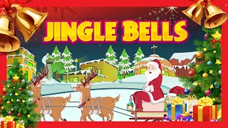 getlinkyoutube.com-Jingle Bells song for children | Merry Christmas | Kids Hut