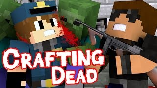 "getlinkyoutube.com-Zombie Guard | Crafting Dead [S1: Ep.9] ""Minecraft Roleplay"""