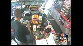 getlinkyoutube.com-Armed Robber Gets owned by Marine