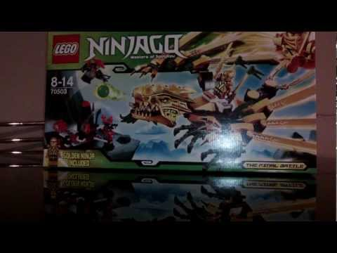 Lego Ninjago 2013 The Golden Dragon Review!