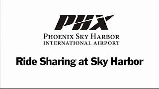 Ride Sharing at Sky Harbor