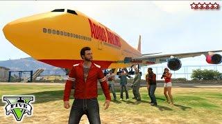 GTA 5 Jumbo Jet Epic SANDBOX! | GTA Online Fun With Liberators, Mil-Jets, Jumbo Jet