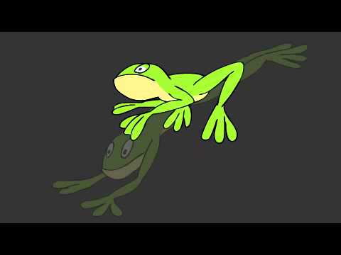 Toon Boom - Frog Jump Cycle
