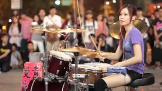 getlinkyoutube.com-20141130 爵士鼓 陳曼青 | It's My Life