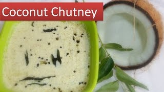 getlinkyoutube.com-Coconut Chutney recipe - south Indian style in 5 minutes