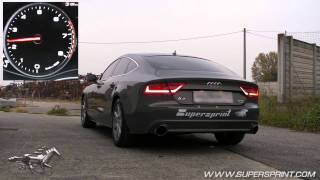 getlinkyoutube.com-Audi A7 3.0 TFSI - Full Supersprint Exhaust