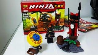 getlinkyoutube.com-레고 닌자고 콜 Thunder Swordsman 피규어 장난감 구입 개봉 조립 영상. Lego Ninjago Toy - Buri Toy Play